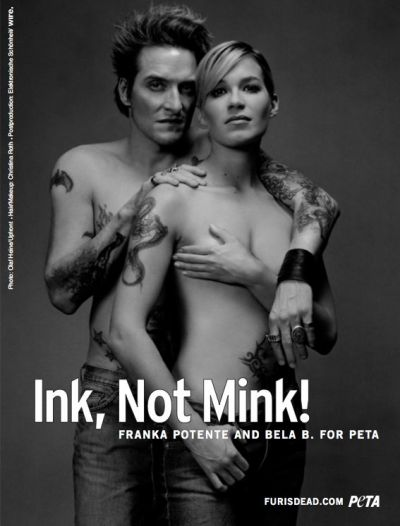 Franka Potente (actress) and Bela B. (drummer)
