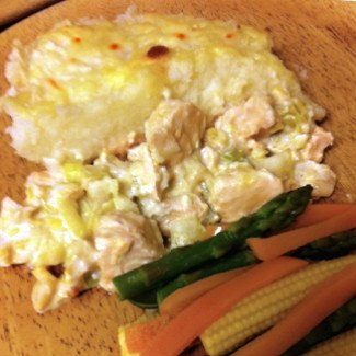 tasty fish pie