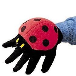 Ladybug Glove Puppet
