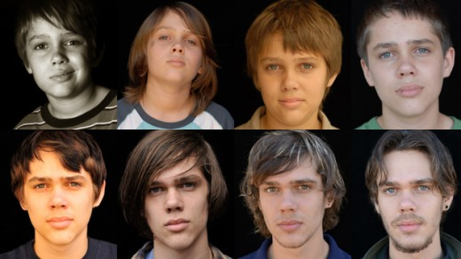 "Mason (Ellar Coltrane) ages right before the camera's eye in ""Boyhood""."