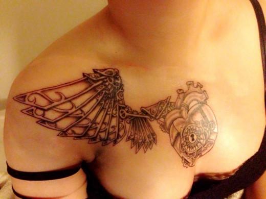Tattoo by Ross GrajewskiSteampunkDiablo Machine2013