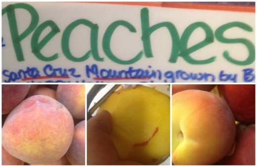Farmers Market Peaches