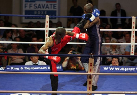 Championnats de France combat Savate 2009