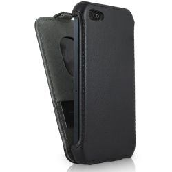 Leather Flip Case for iPhone 5