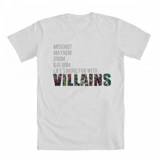 loki villains tshirt we love fine