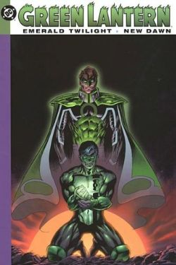 emerald twilight graphic novel - kyle rayner