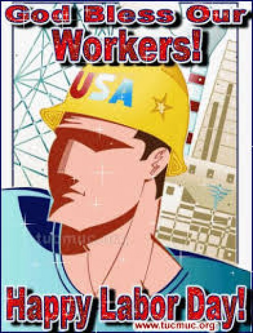 American worker poster.