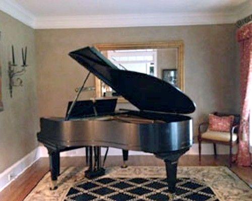 Author Karen White's Mason & Hamlin Grand Piano
