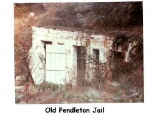 old jail in pendleton sc
