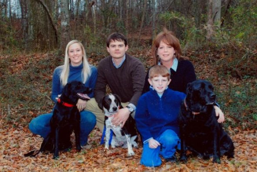 Doc Hellams Family Photo by Lynne Parker Photography