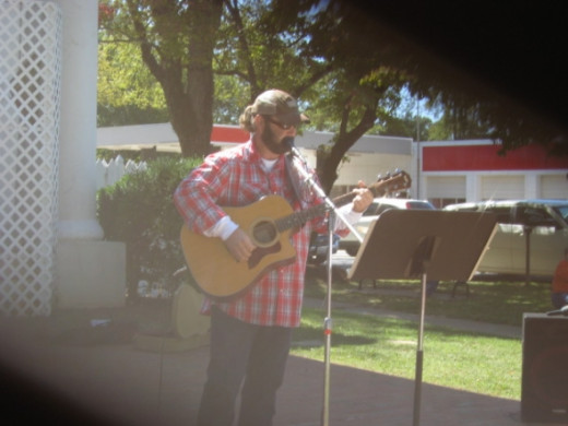 T.J. Land at Pendleton's Fall Harvest Festival