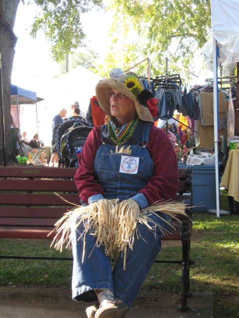 Donna was a great Living Scarecrow