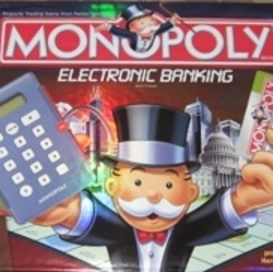 Photo Credit: Photo taken by OhMe of our game of the Electronic Version of Monopoly.