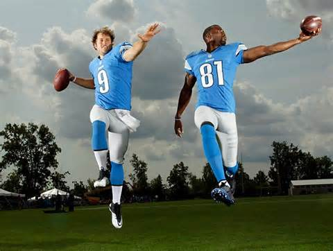 Calvin Johnson & Matthew Stafford