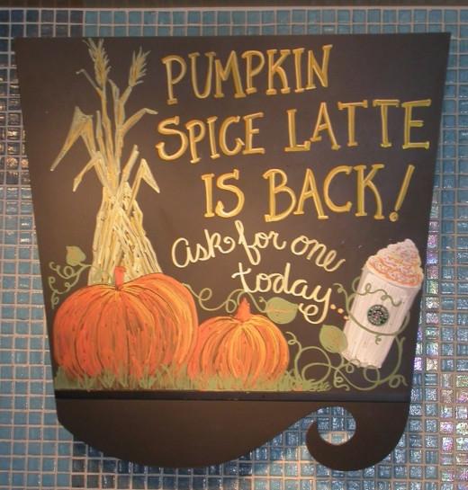 Pumpkin Spice is Back