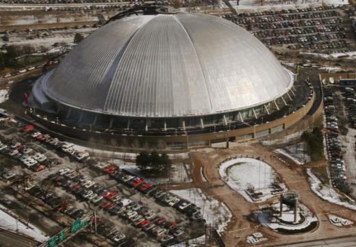Mellon Arena, AKA Civic Arena, AKA the Igloo. Home of our hockey team, the Pittsburgh Penguins.