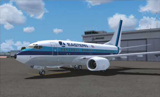 Artists Rendition of Eastern Airlines 2.0