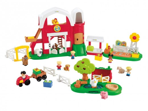 Little People are always a popular gift for toddlers