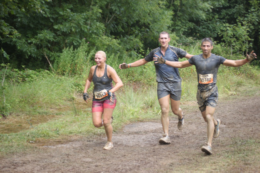 Training should always be fun- Runners at a Tough Mudder event- The diverse nature of these events really helps develop general running fitness