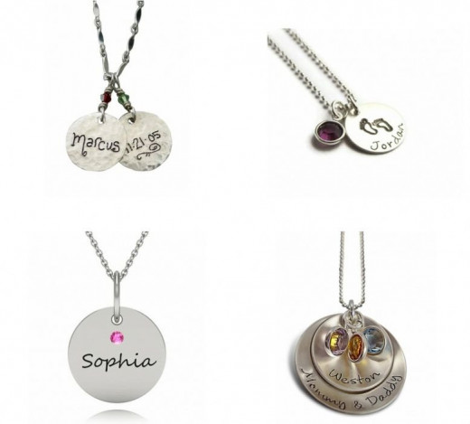 New Mom Christmas Gifts - Trendy Necklaces