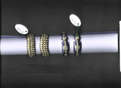 Kundan Meena Jadau Bangles and Bracelets