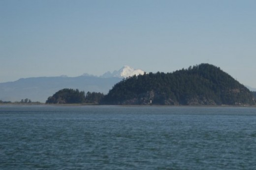Mt Baker in the distance