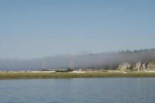 Old Shipwreck in Fisherman's Bay