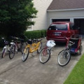 Our Family Bike Fleet