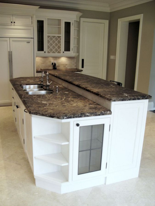 Imperador Dark Marble Kitchen Countertop