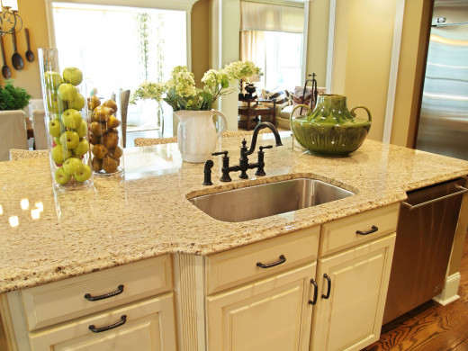 Granite Countertop with Ogee Edge