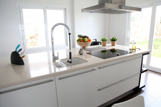 Seamless kitchen island