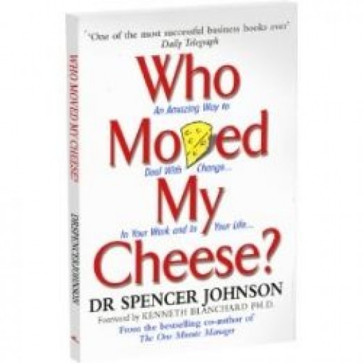 who moved my cheese: odd book titles