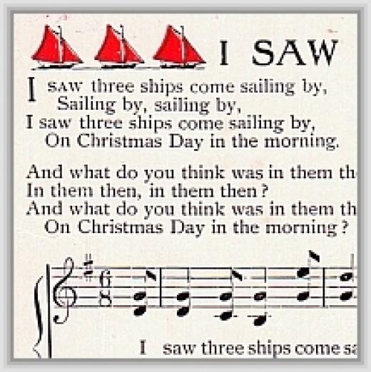 I saw three ships: traditional carol