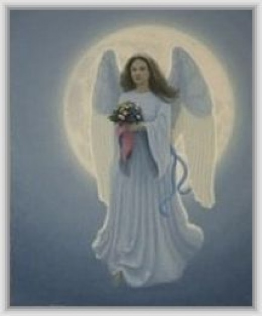 Angel of the Lord: christmas card design