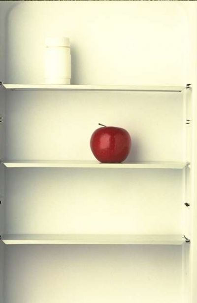 Add extra shelves to exishing cupboards.