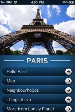 itunes lonely planet app