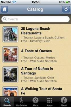 Free City walk apps