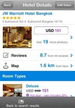 Agoda Hotel App