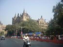 Beautiful old buildings in Mumbai