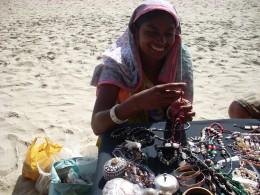 Jewellery salewoman
