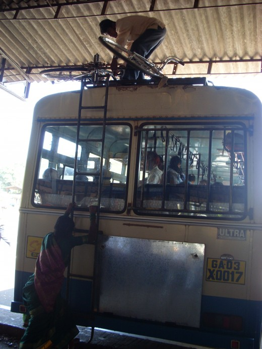 Local bus to Panjim