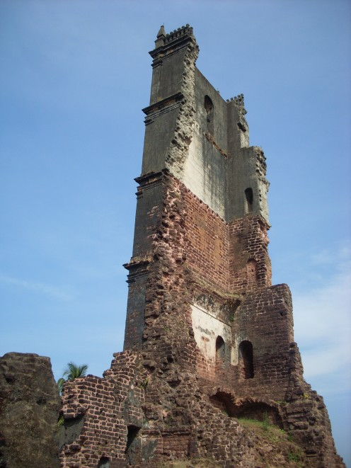 Ruins of the old Augustine monastery