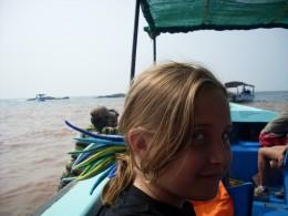 Boat to Anjuna