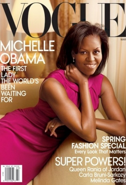 Michelle Obama on Cover of Vogue posted by sherbetpink