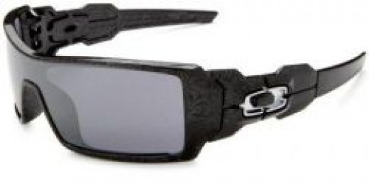 Oakley Men's Oil Rig Iridium Sunglasses