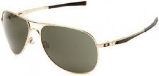 Oakley Men's Plaintiff Aviator Sunglasses