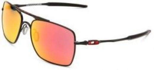 Oakley Deviation OO4061 Iridium Square Sunglasses