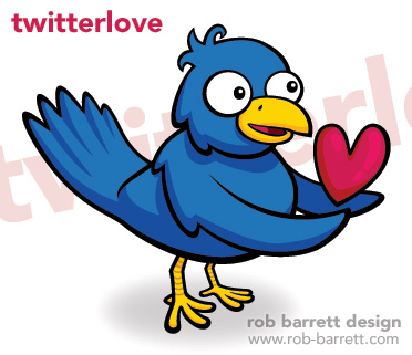 Final image of Rob Barrett's Twitterlovebird