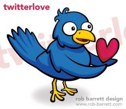 Final image of Rob Barrett's Twitterlovebird