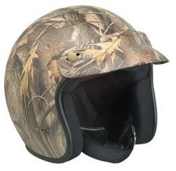 Raider X-Large Realtree Camo Open Face Helmet